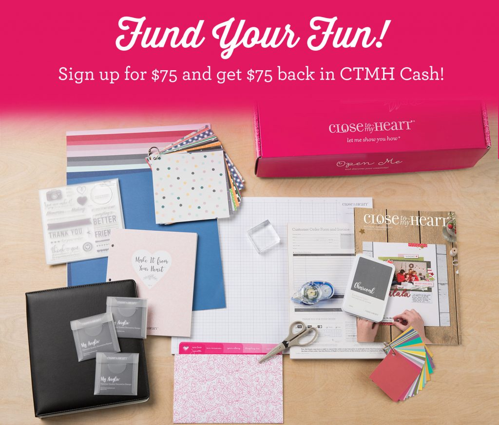 November CTMH Fund Your Fun Special