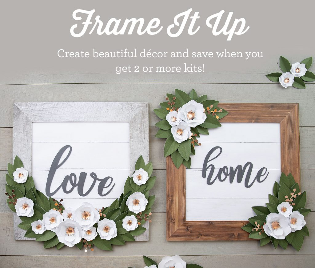 CTMH National Papercrafting Month Frame It Up Special