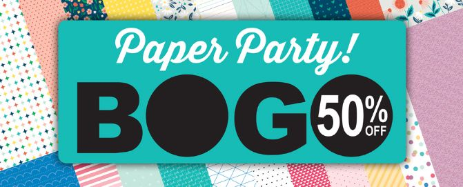 CTMH March BOGO Paper Party