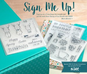 February CTMH Sign Me Up Consultant Special
