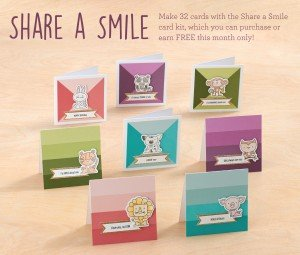 Share a Smile Card Kit