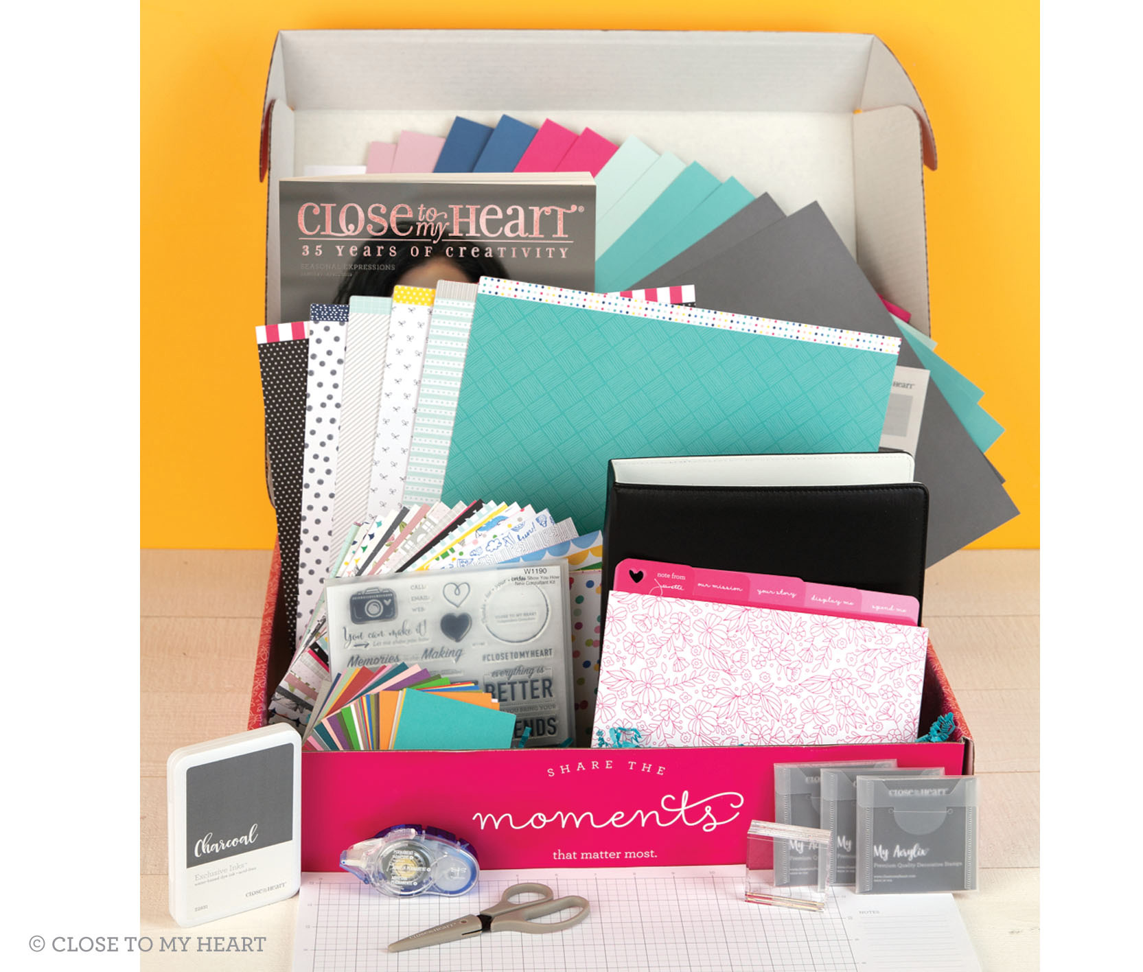 Seasonal Expressions 1 CTMH Consultant Kit Contents