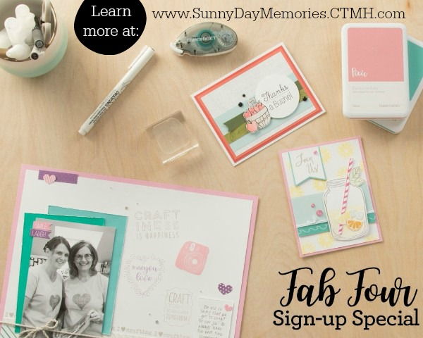 CTMH Fab Four Sign-up Special