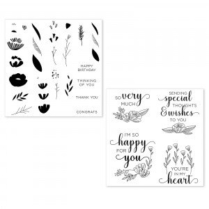 From the Heart Stamp Set