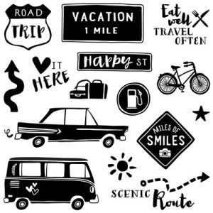 June 2016 The Long Way Home Stamp Set