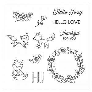Hello Foxy Stamp of the Month