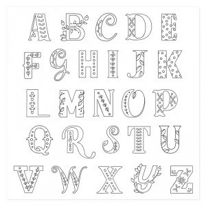 July CTMH Stamp of the Month Storybook Alphabet