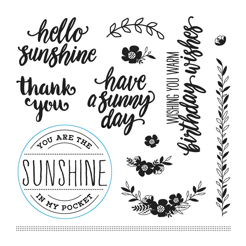 Sunny Thoughts February Stamp of the Month