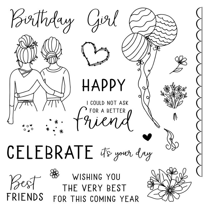 May CTMH Stamp of the Month To My Bestie