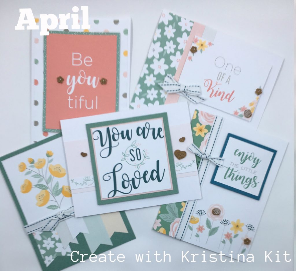 April Create with Kristina Kit