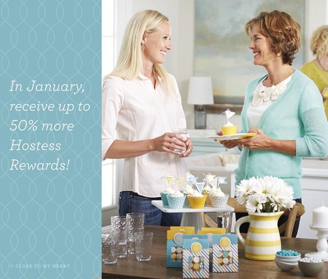 CTMH January Hostess Special