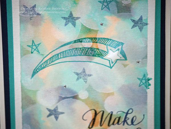 Bokeh Make a Wish Closeup
