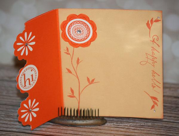 Open Cheery Artfully Sent A Happy Hello Card