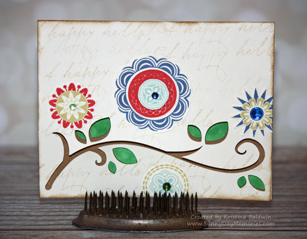 Cricut Artfully Sent A Happy Hello Card