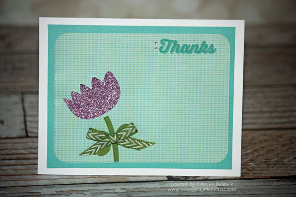 Artfully Sent Pocket Thank You Card