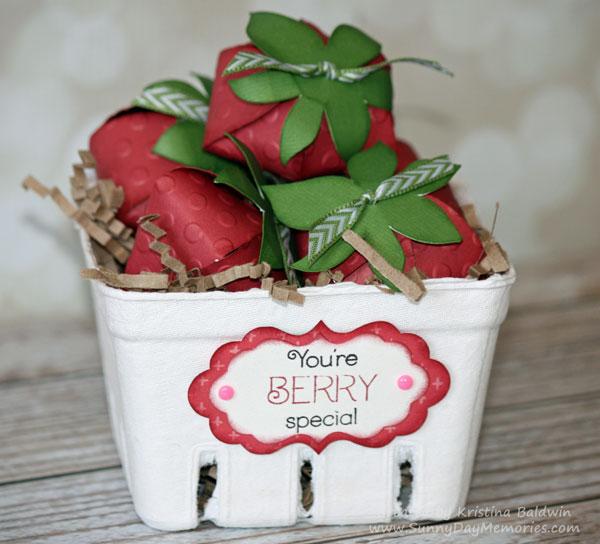 Taste of Summer Cricut Artiste Strawberries