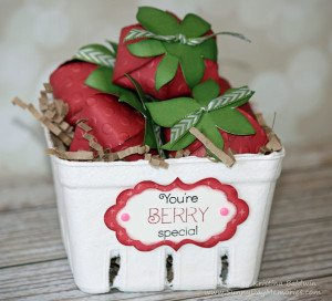 Taste of Summer Cricut Artiste Strawberries