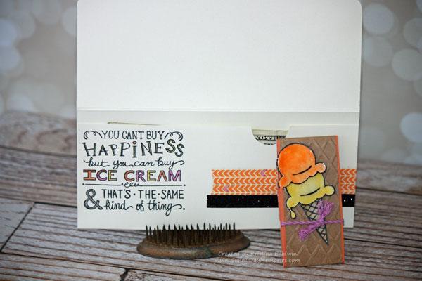 Inside Ice Cream Dream Money Card