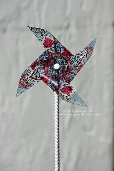 Exotic Flower Pinwheel