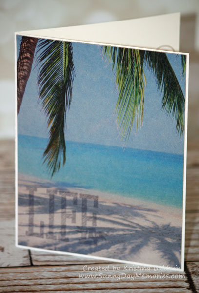 Graze Tropics Life Is Wonderful Card