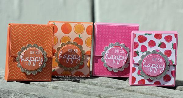 Happy Hexagons Gum Box Containers