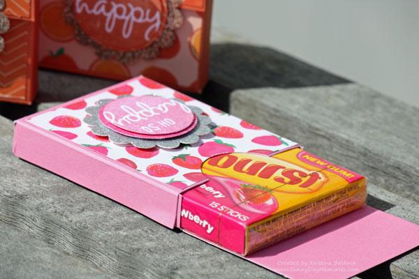 Open Gum Box Container