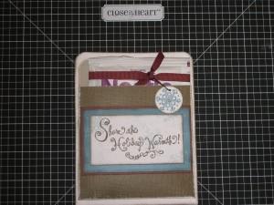 cocoa pouch card