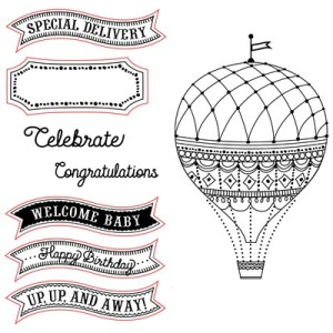 Balloon Wishes Stamp Set
