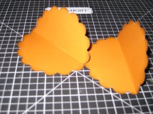 half folded scallops