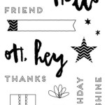 Hello, Life Cardmaking Stamp Set