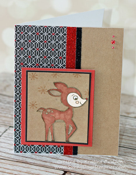 Miracle of Christmas Rudolph Card