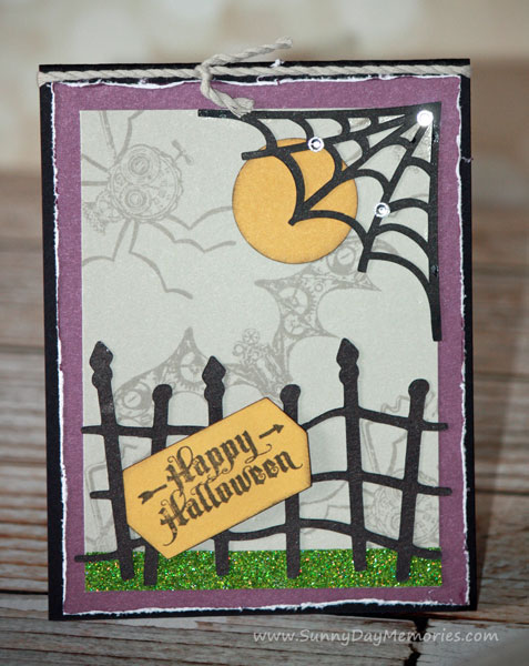 Steampunk Scoundrels Halloween Card
