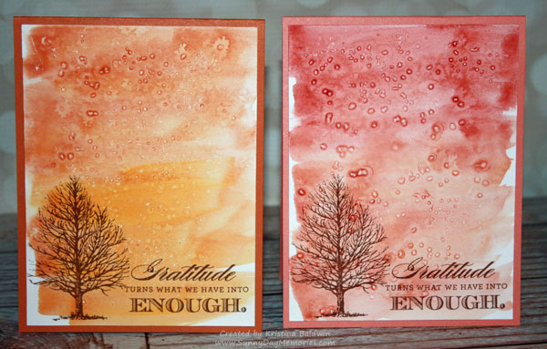 Always Grateful Watercolor Cards