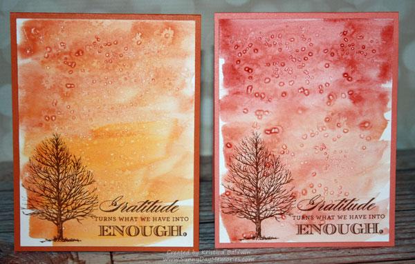 Always Grateful Watercolor Cards