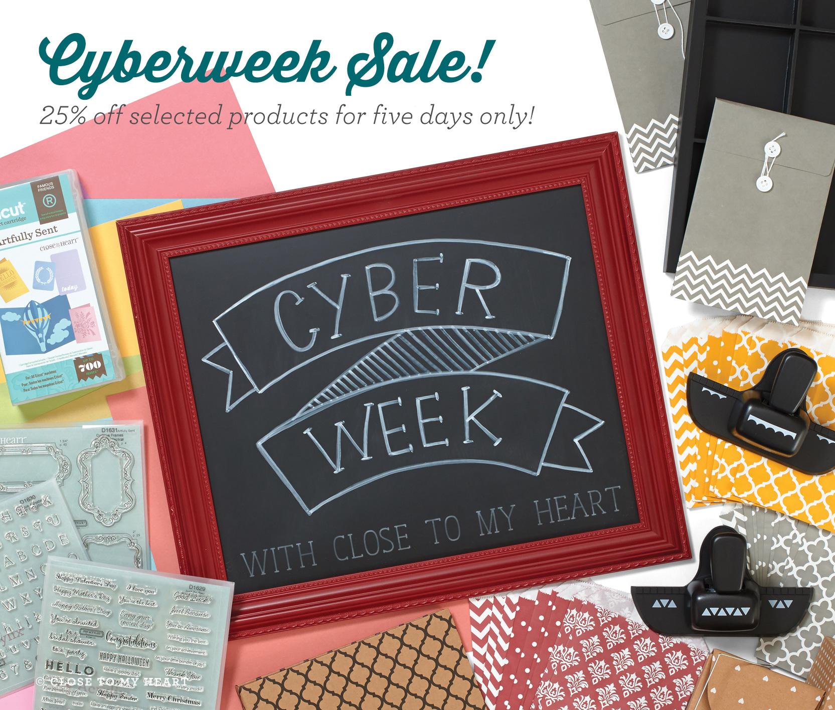 CTMH Cyber Week Specials