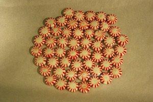Circle Peppermint Platter