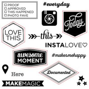 D1658 #makesmehappy CTMH Stamp Set
