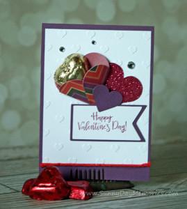 Beloved Bouquet Valentine's Heart Card