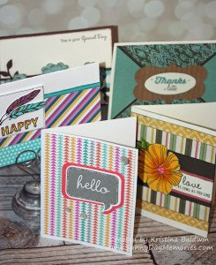 Card Buffet Samples