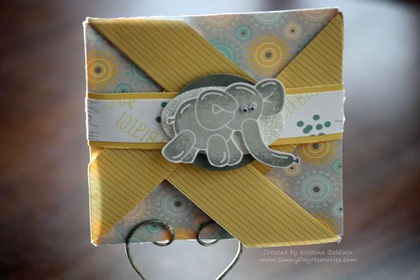 Close-up of Balloon Animals Pinwheel Card