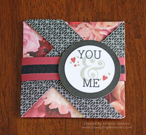 You & Me Pinwheel Card