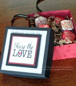 Open Share the Love Valentine's Box