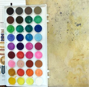 Paint Blots with CTMH Watercolor Paints