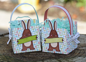 Spring Critters Easter Baskets