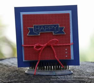 Happy Turkish Fold Card