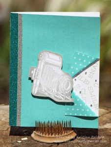 Vintage Camera Life in Pictures Card