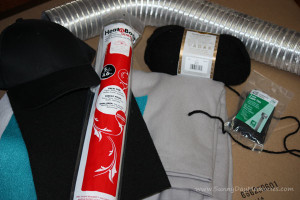 Supplies for Horton Costume