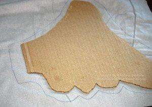 Trace Horton Ears on Fabric