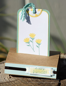 Free Standing Happy Times Pop-Up Birthday Card