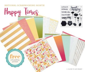 CTMH's May National Scrapbooking Special